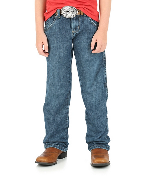 BOY'S WRANGLER RETRO® STRAIGHT FIT JEAN (4-7) - Patton's