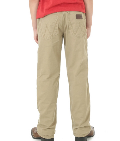 BOY'S WRANGLER RETRO® SLIM FIT STRAIGHT LEG PANT (8-16) - Patton's