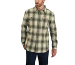 CARHARTT® ORIGINAL FIT FLANNEL LONG-SLEEVE PLAID SHIRT