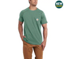 CARHARTT FORCE® COTTON DELMONT SHORT-SLEEVE T-SHIRT SEASONAL COLORS - Patton's