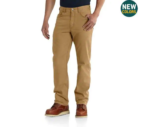 CARHARTT RUGGED FLEX® RIGBY 5-POCKET WORK PANT
