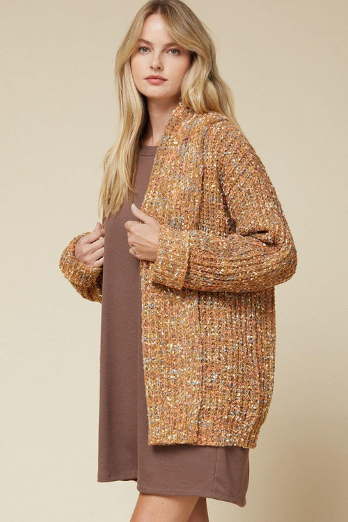 LAYLA MULTI COLOR OPEN FRONT CARDIGAN