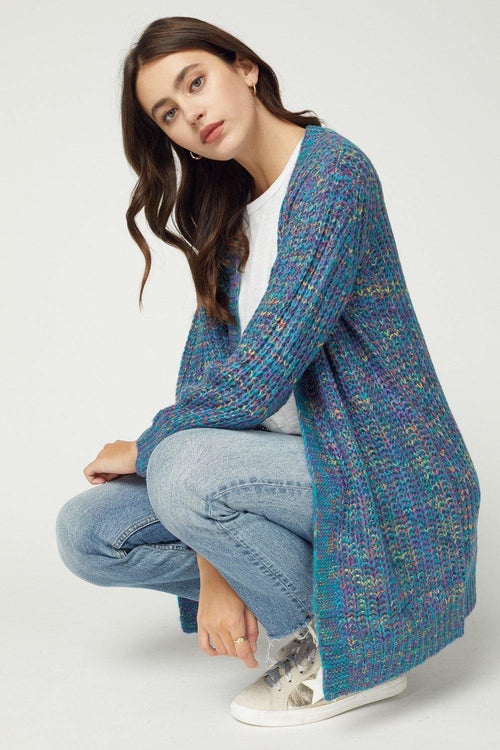 CHELSEA MULTI COLOR KNIT CARDIGAN