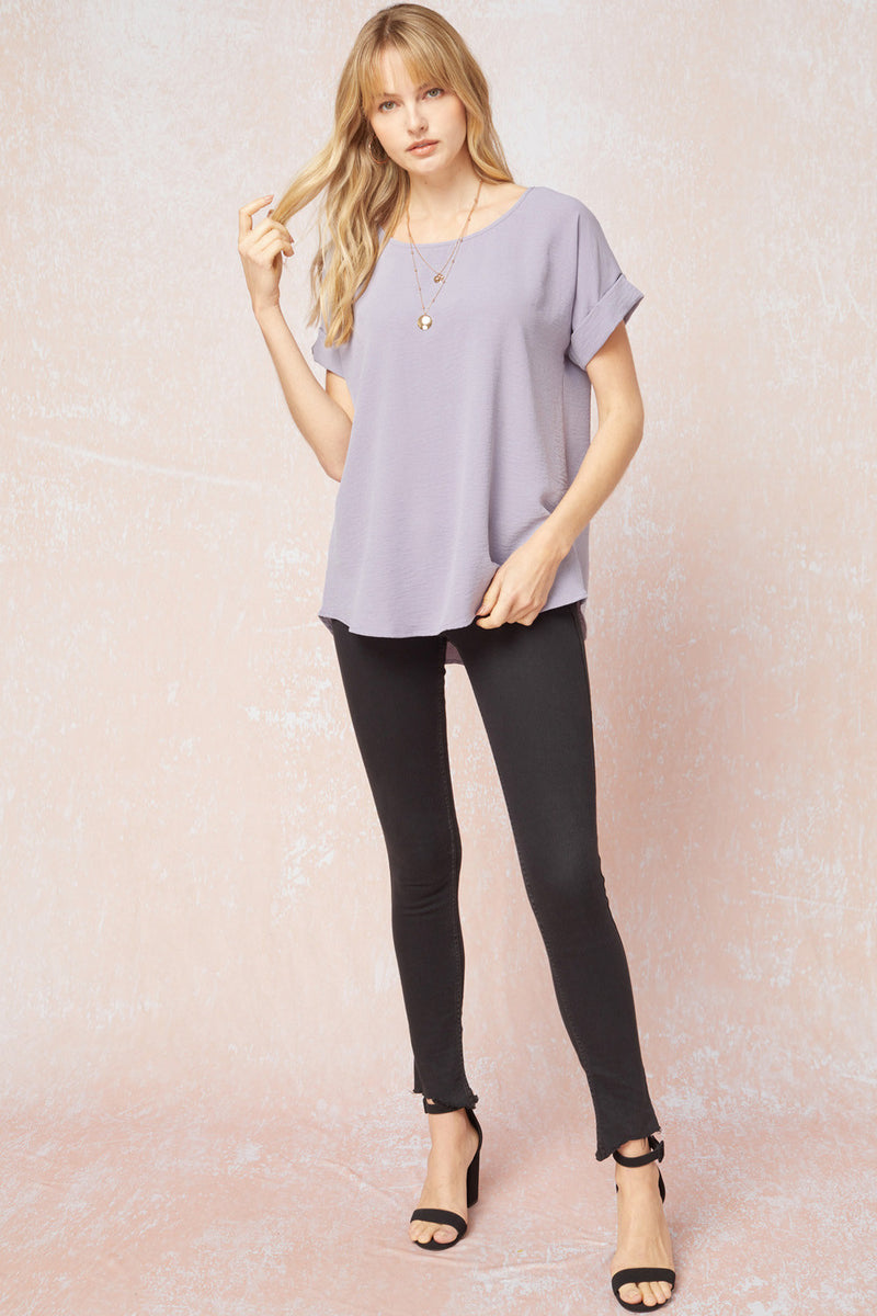 SYDNEY SCOOP NECK TOP