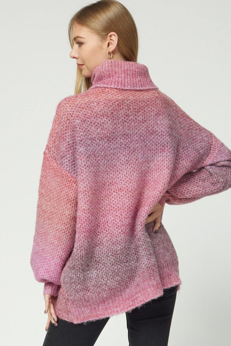 LESLIE OMBRE KNIT PULLOVER SWEATER - Patton's