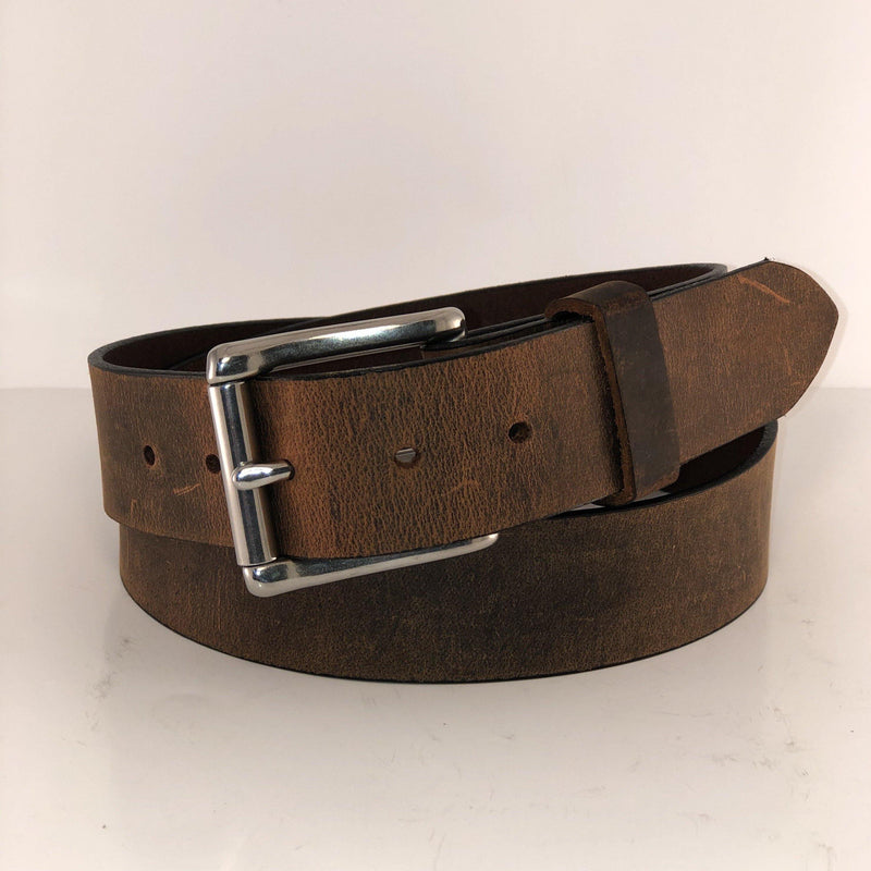 PATTON'S CRAZY HORSE COWHIDE BELT