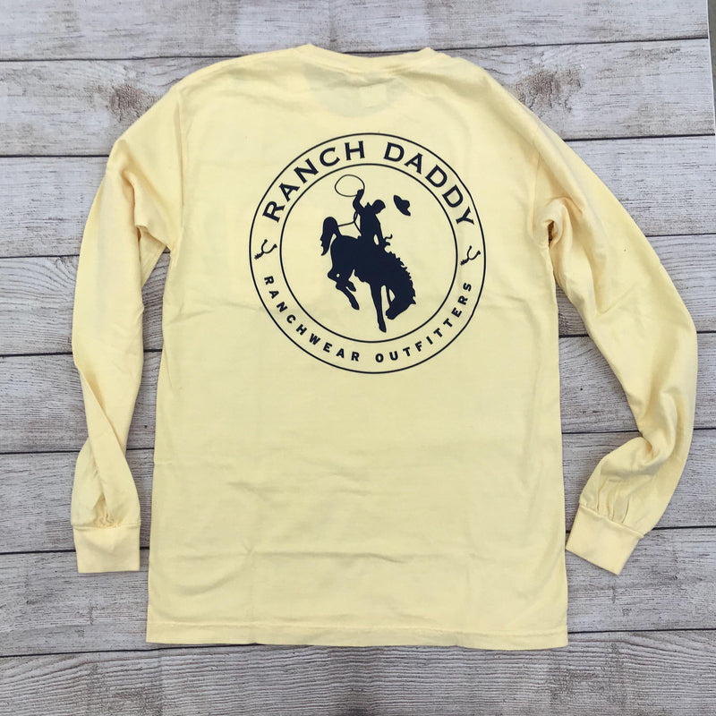 RANCH DADDY BUCKER SEAL LS TEE - Patton's