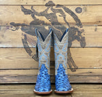 TANNER MARK WOMEN'S BLUE OST PRINT BOOTS - Patton's