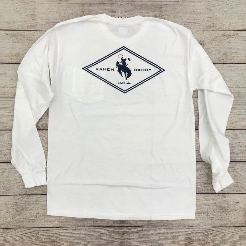 RANCH DADDY DIAMOND LS TEE - Patton's