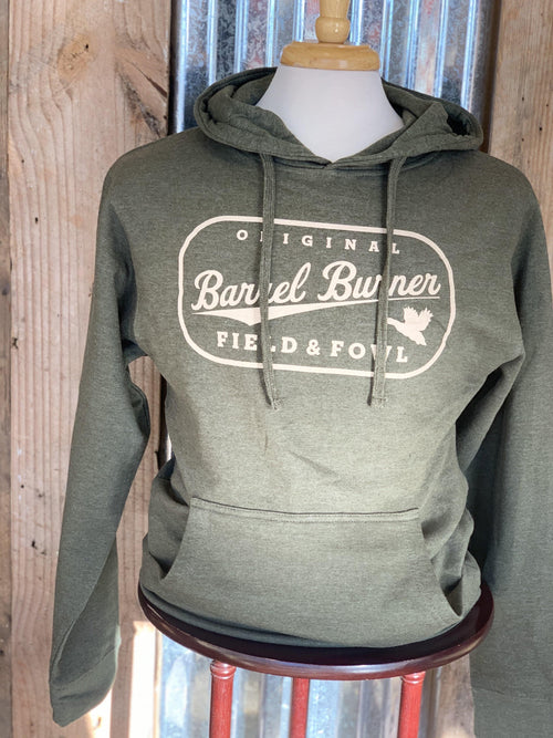 FIELD & FOWL BARREL BURNER HOODED SWEATSHIRT - Patton's