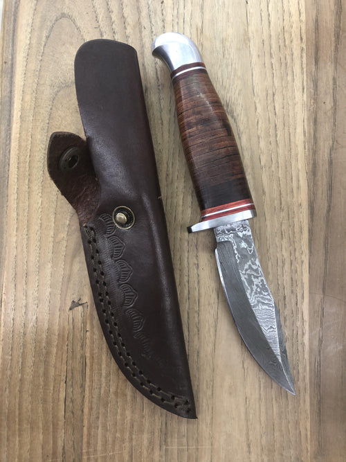 SKINNER W LEATHER WRAPPED GRIP - Patton's