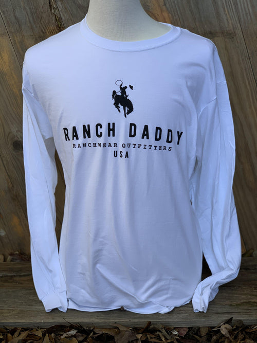 RANCH DADDY GRAVEL BUCKER LS GRAPHIC TEE - Patton's