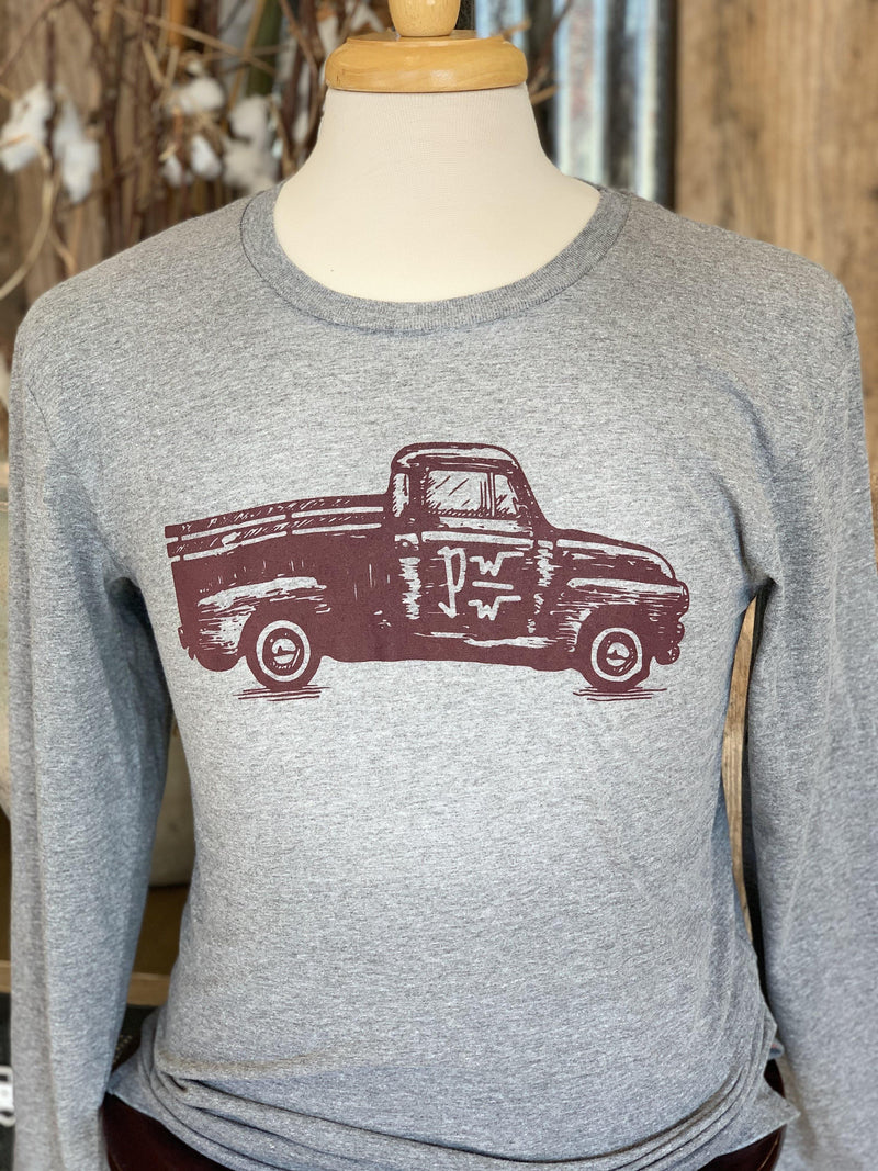 PATTON'S RANCH TRUCK LS GRAPHIC TEE - Patton's
