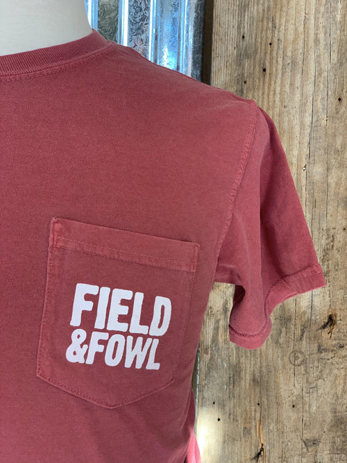 FIELD & FOWL ICONS 2020 SS POCKET TEE - Patton's