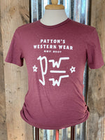 PATTON'S BRAND SS GRAPHIC TEE - Patton's