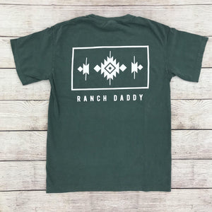 RANCH DADDY FRAMED NAVAJO SS TEE