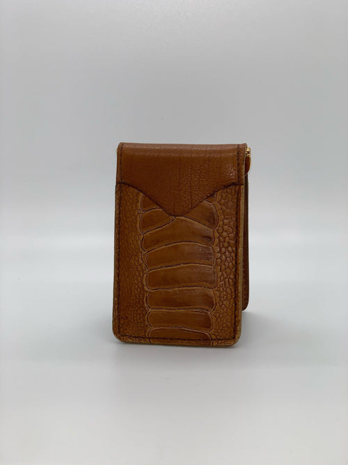 HP CUSTOM PREMIUM LEATHER FRONT POCKET WALLET - Patton's
