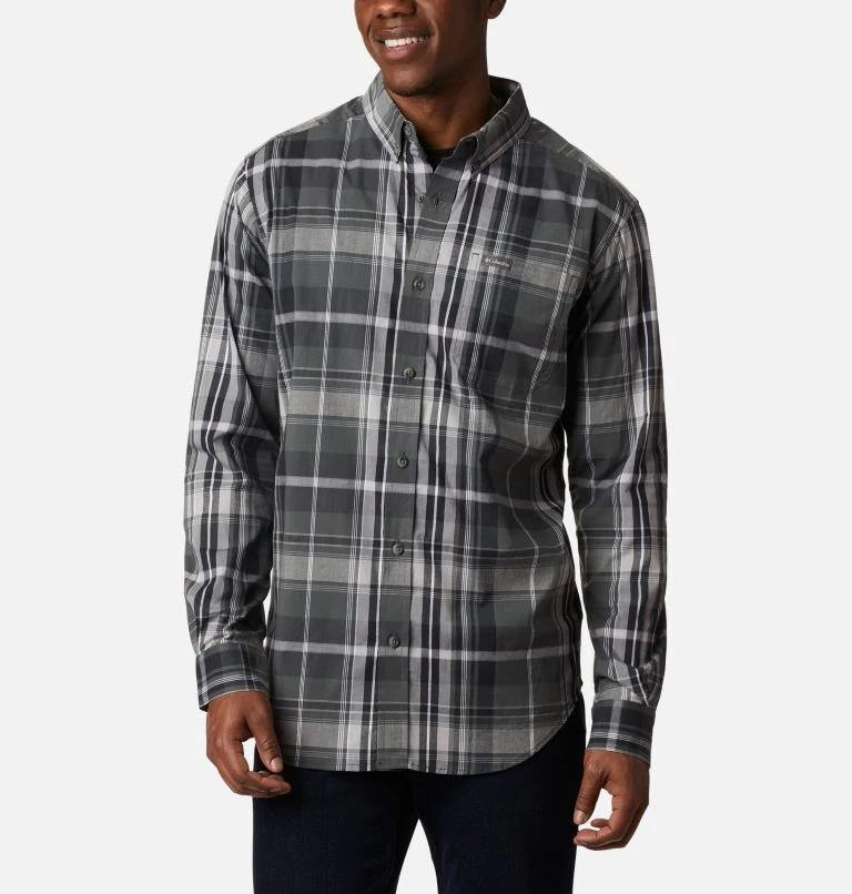 COLUMBIA RAPID RIVERS II LONG SLEEVE BUTTON SHIRT - Patton's