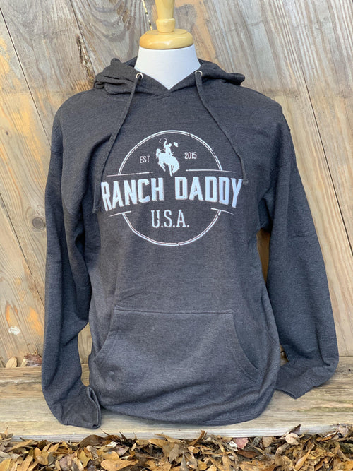 RANCH DADDY ARCHED SEAL HOODED SWEATSHIRT - Patton's