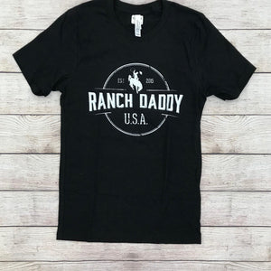 RANCH DADDY ARCHED SEAL SS TEE