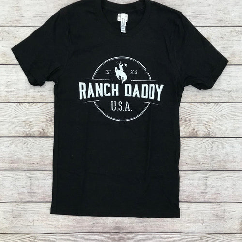 RANCH DADDY ARCHED SEAL SS TEE - Patton's