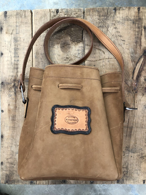 HP CUSTOM LEATHER PURSE - Patton's