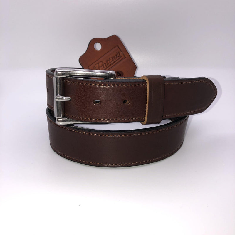 PATTON'S HW RICH BROWN BRIDLE BELT