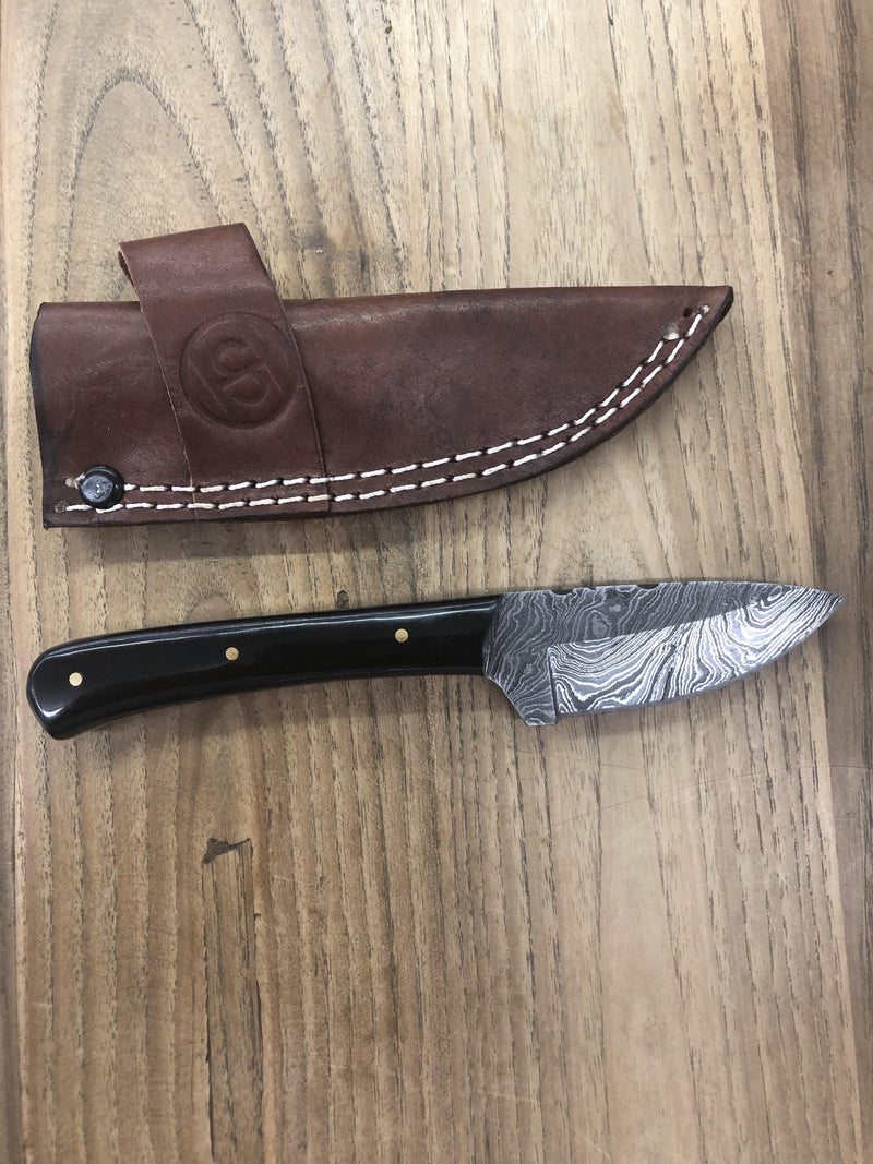 BUFFALO HORN DAMASCUS