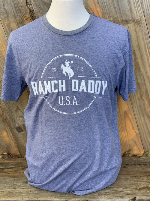 RANCH DADDY ARCHED SEAL SS GRAPHIC TEE - Patton's