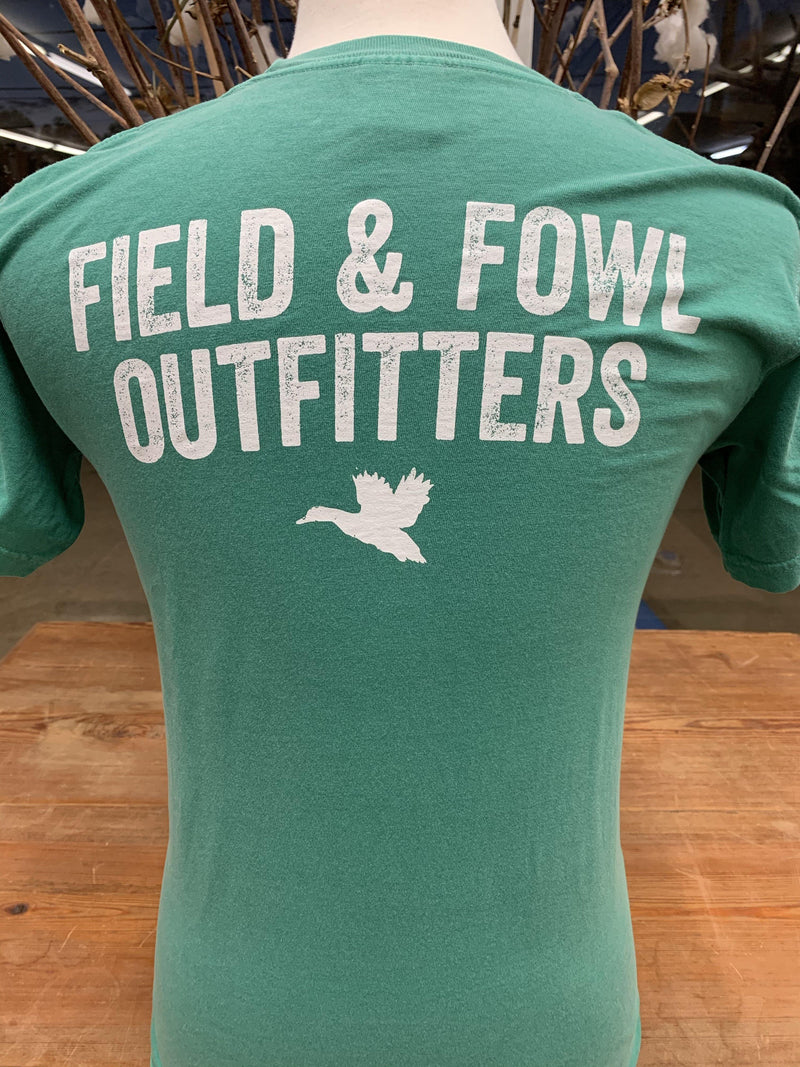 FIELD & FOWL STACKED DUCKS SS POCKET TEE - Patton's
