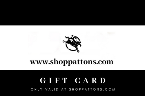 SHOPPATTONS.COM GIFT CARD (ONLINE ONLY) - Patton's