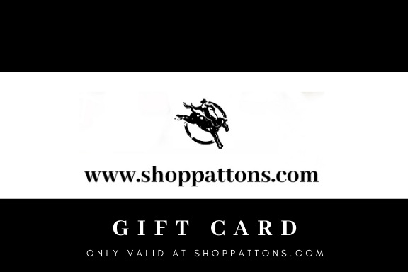 SHOPPATTONS.COM GIFT CARD (ONLINE ONLY)