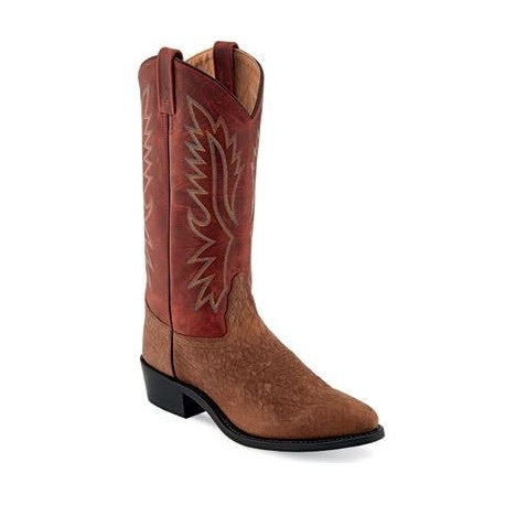 OLD WEST BULLHIDE COWBOY BOOT