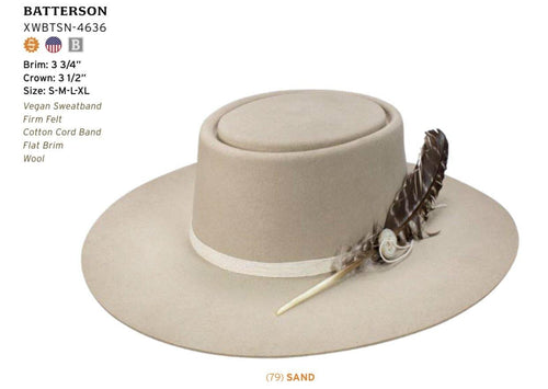 STETSON SEEKER COLLECTION BATTERSON - Patton's