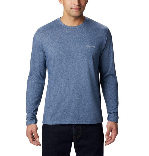 COLUMBIA THISTLETOWN PARK LONG SLEEVE CREW NECK SHIRT - Patton's