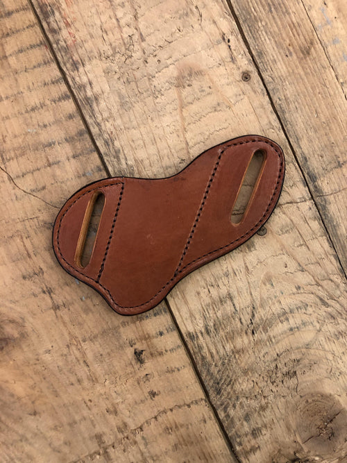 HP CUSTOM PANCAKE KNIFE SHEATH - Patton's