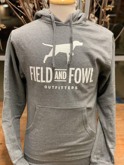 FIELD & FOWL GEO DOG BLOCK HOODED SWEATSHIRT - Patton's