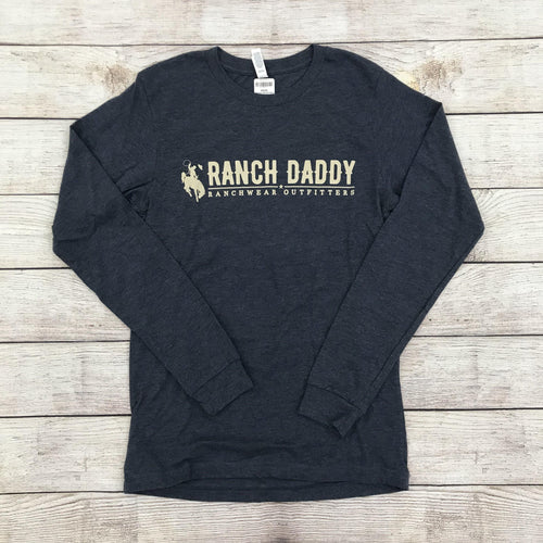 RANCH DADDY POINTS BUCKER LS TEE - Patton's