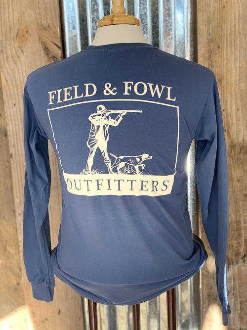 FIELD & FOWL SHOOTER LS POCKET TEE - Patton's