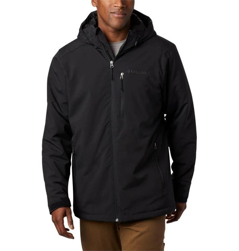 COLUMBIA GATE RACER INSULATED SOFTSHELL JACKET