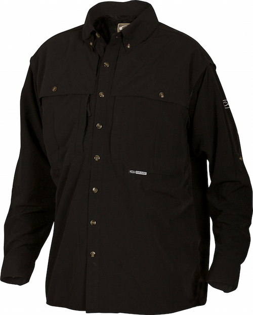 DRAKE SOLID LS WINGSHOOTER'S SHIRT - Patton's