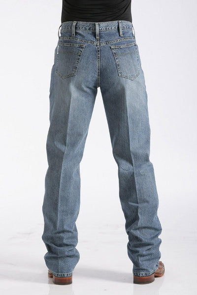 CINCH RELAXED FIT WHITE LABEL JEANS - MEDIUM STONEWASH