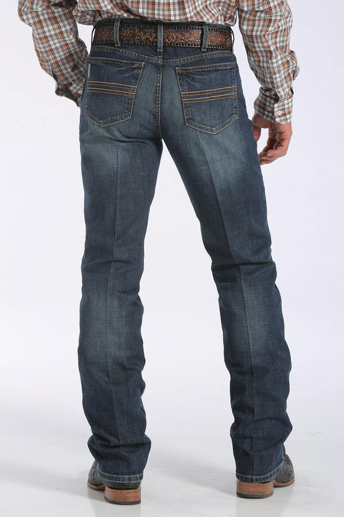 CINCH SLIM FIT SILVER LABEL PERFORMANCE DENIM - DARK STONEWASH - Patton's