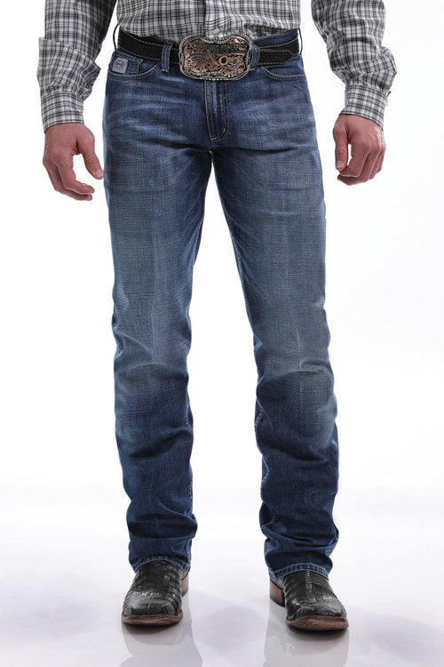 CINCH SLIM FIT SILVER LABEL JEAN MEDIUM STONEWASH - Patton's