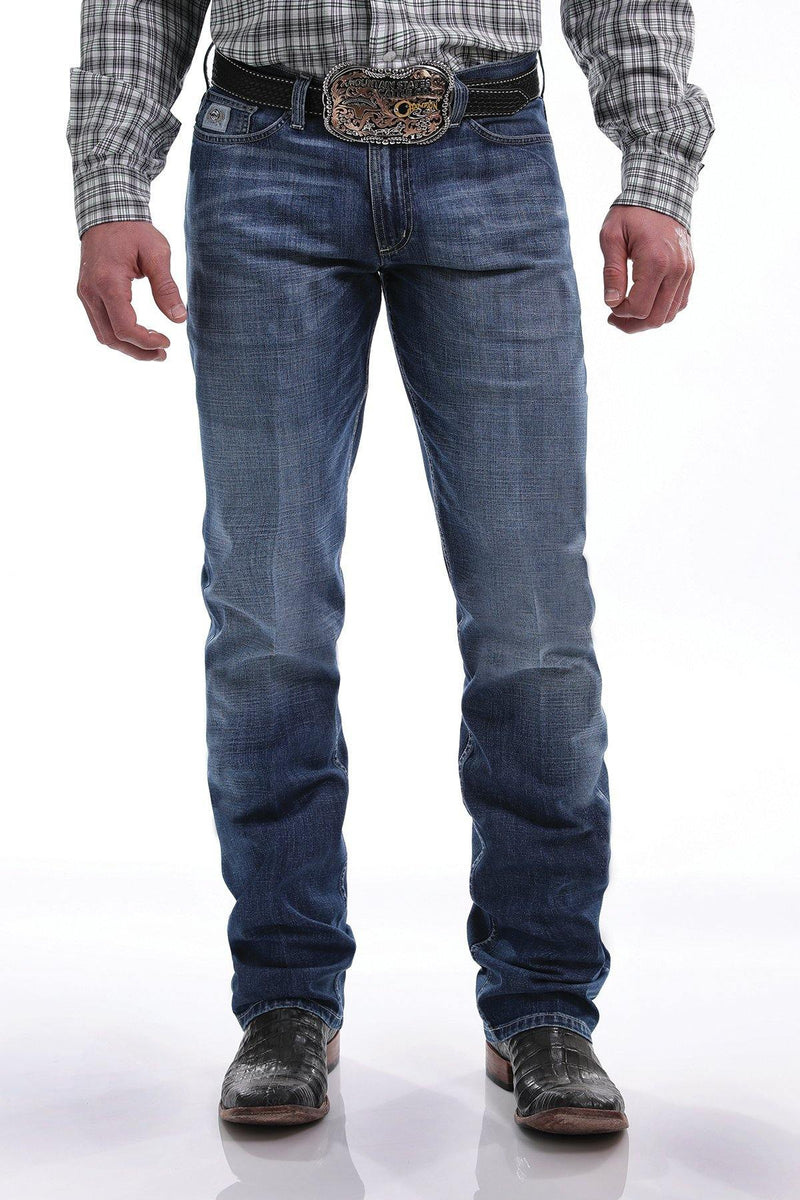 CINCH SLIM FIT SILVER LABEL JEAN MEDIUM STONEWASH