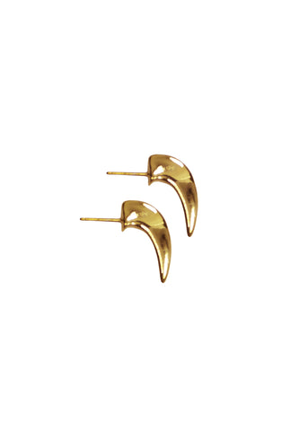 Gold Talon Earrings