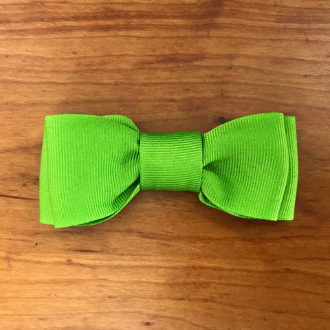 Lime Green Bow/Bow Tie