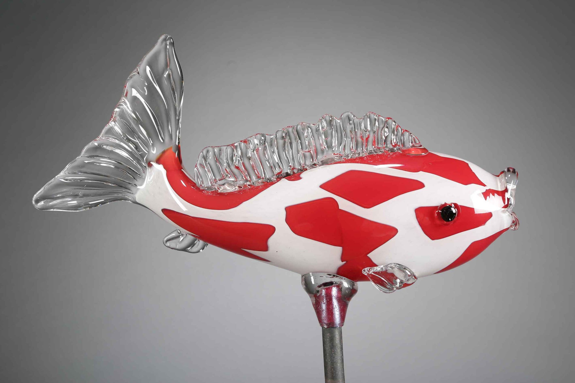 Fish Koi Red White