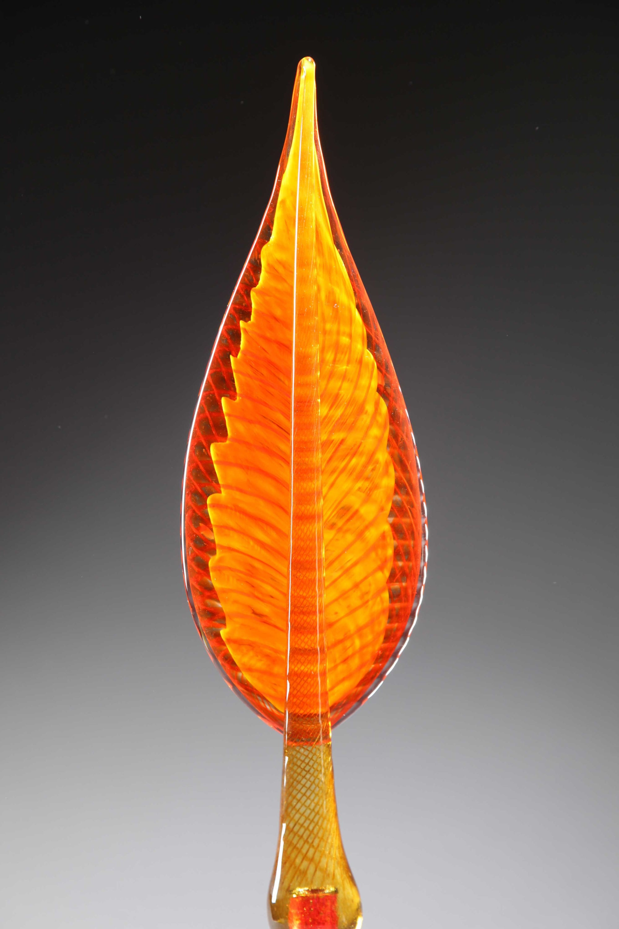 Feather Leaf Orange