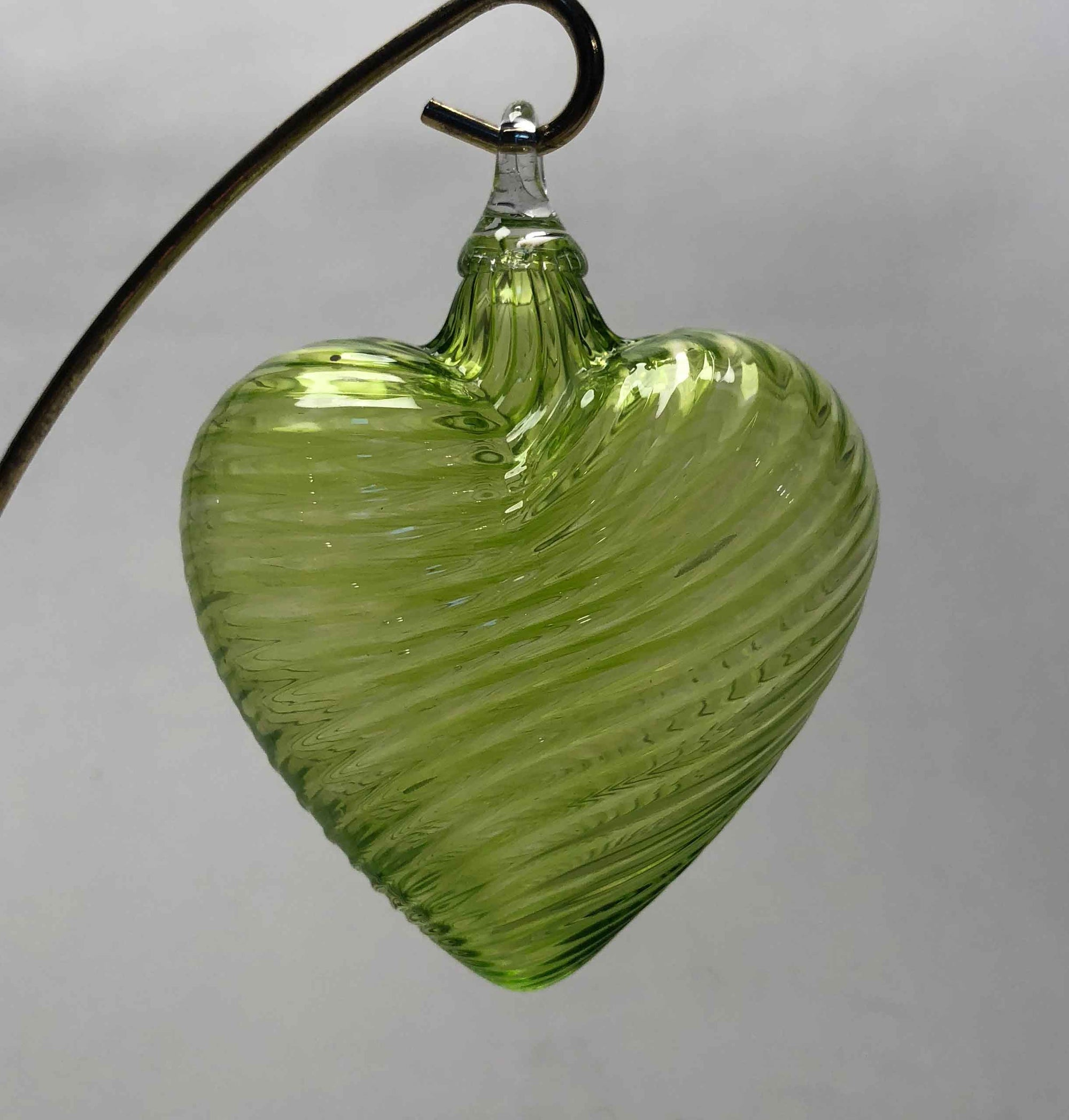 Ornament Heart Citron Green